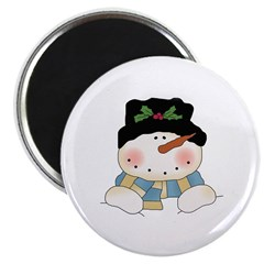 Holiday Snowman Magnet
