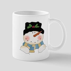Holiday Snowman Mug