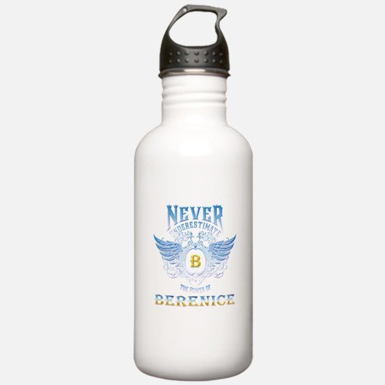 never underestimate th Water Bottle