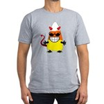 Evil Candy Corn Men's Fitted T-Shirt (dark)