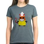 Evil Candy Corn Women's Dark T-Shirt