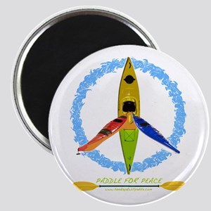 PADDLE FOR PEACE Magnet