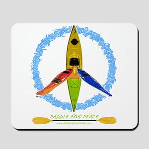 PADDLE FOR PEACE Mousepad