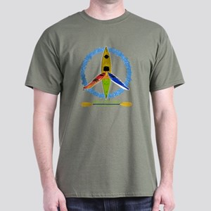 PADDLE FOR PEACE Dark T-Shirt