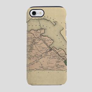 Vintage Map of Alexandria Coun iPhone 7 Tough Case