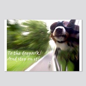 To the Dogpark! Postcards (Package of 8)