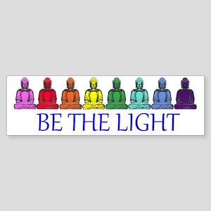 Buddha Rainbow Sticker (Bumper)