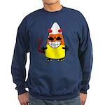 Evil Candy Corn Sweatshirt (dark)