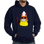 Evil Candy Corn Hoodie (dark)