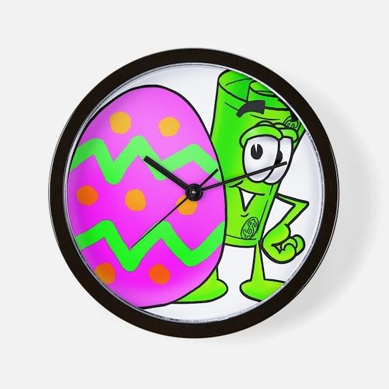 Mr. Deal - Easter Egg Wall Clock