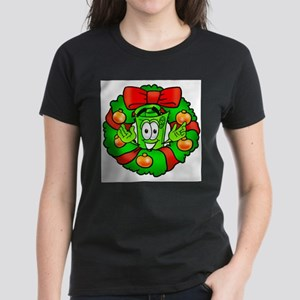 Mr. Deal - Christmas - Wreath Women's Dark T-Shirt