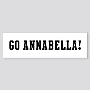 Go Annabella Bumper Sticker