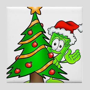 Mr. Deal - Christmas - Christ Tile Coaster