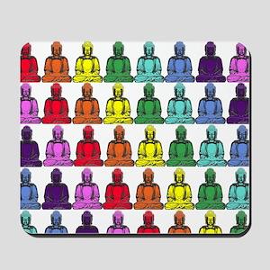 Buddha Rainbow Mousepad