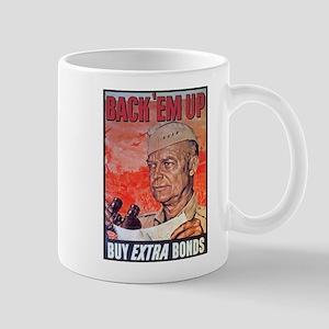 Eisenhower Back Em Up Mug
