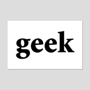 Geek Mini Poster Print