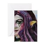 Girl with the Purple Hair - I Feel Changed Greetin