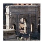 Arch of Titus Tile Coaster