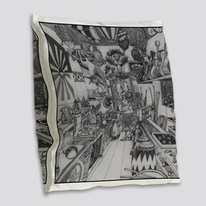 A MIGHTY TREE Page 42 Burlap Throw Pillow