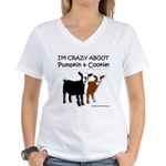 I'm Crazy About Pumpkin and Cookie T-Shirt