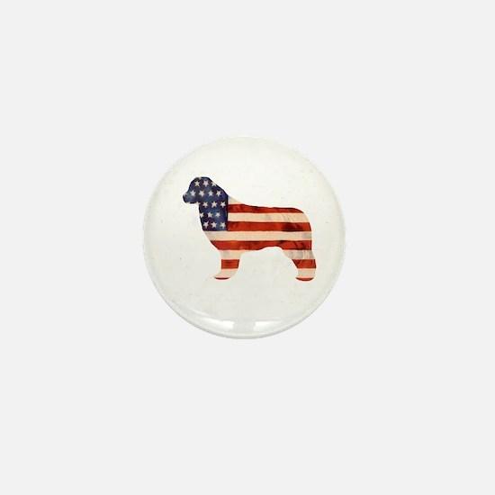 Newfoundland Dog USA Mini Button (10 pack)
