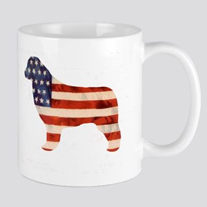 Newfoundland Dog USA Mug