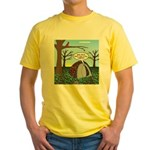 Fall Campout Yellow T-Shirt