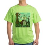 Fall Campout Green T-Shirt