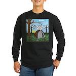 Fall Campout Long Sleeve Dark T-Shirt