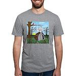 Fall Campout Mens Tri-blend T-Shirt