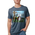 Fall Campout Mens Tri-blend T-Shirt