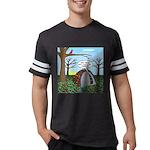 Fall Campout Mens Football Shirt