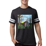 Fall Campout Mens Football Shirt
