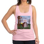 Fall Campout Racerback Tank Top