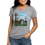 Fall Campout Womens Tri-blend T-Shirt