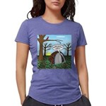 Fall Campout Womens Tri-blend T-Shirt