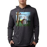 Fall Campout Mens Hooded Shirt