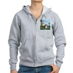 Fall Campout Women's Zip Hoodie