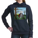 Fall Campout Women's Hooded Sweatshirt
