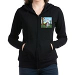 Fall Campout Women's Zip Hoodie