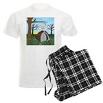Fall Campout Men's Light Pajamas