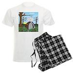 Fall Campout Men's Light Pajamas