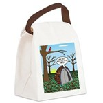 Fall Campout Canvas Lunch Bag