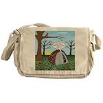 Fall Campout Messenger Bag