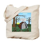 Fall Campout Tote Bag
