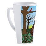 Fall Campout 17 oz Latte Mug