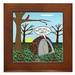 Fall Campout Framed Tile