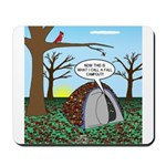 Fall Campout Mousepad