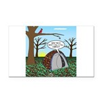 Fall Campout Rectangle Car Magnet
