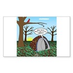 Fall Campout Sticker (Rectangle 10 pk)